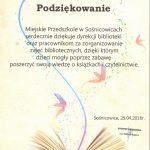 podziękowania święto książki