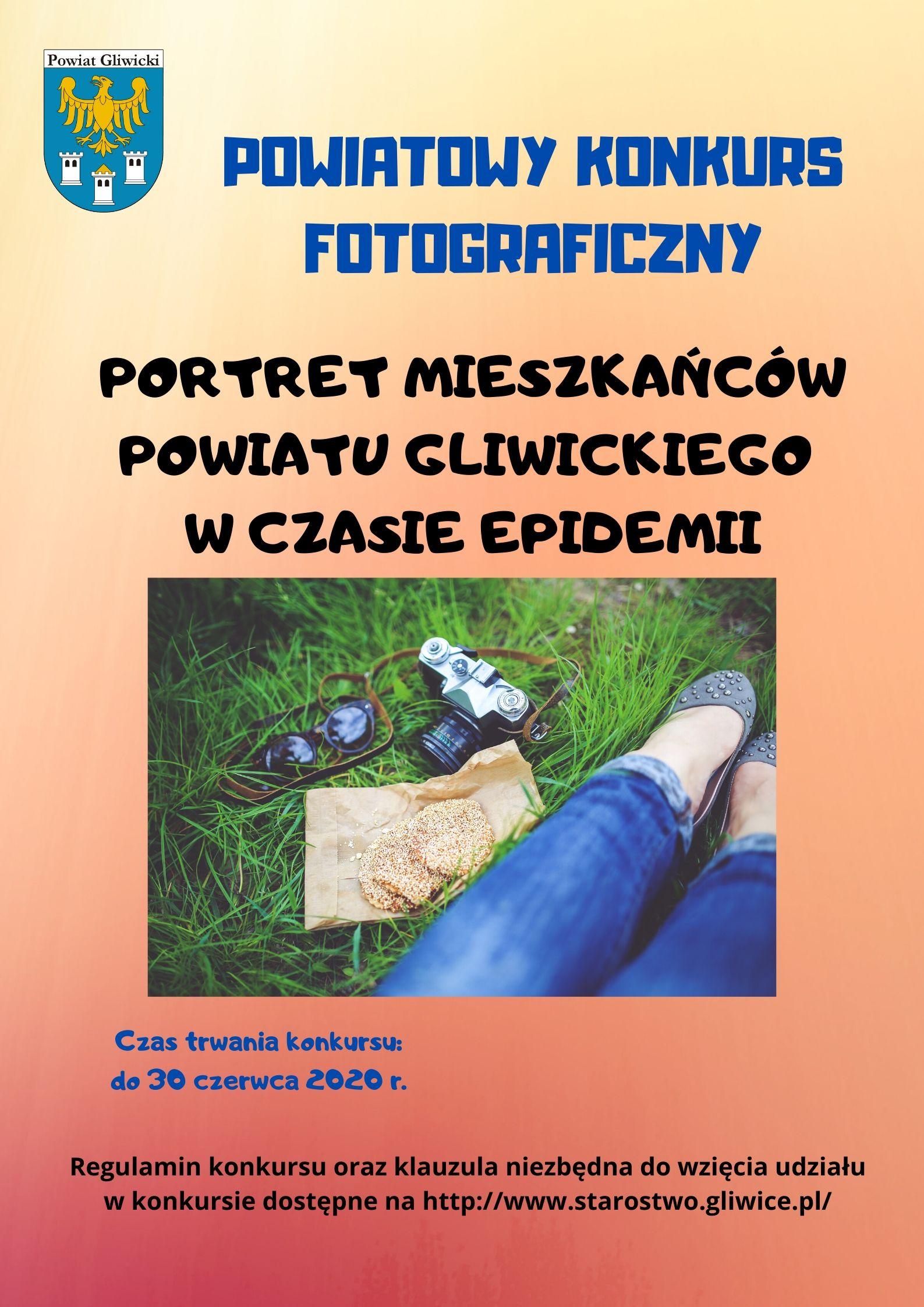 PORTRET MIESZKAŃCÓW W CZASIE EPIDEMII - plakat