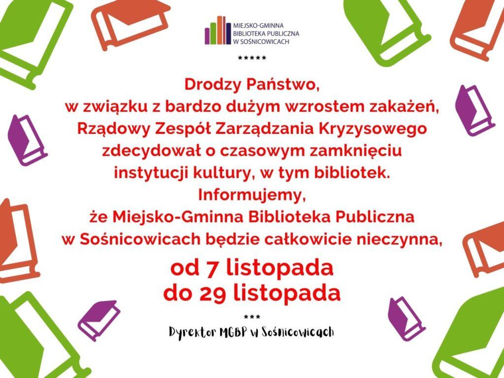 Zamknięcie_biblioteki_mgbp_sośnicowice_wirus_czerwone_wordpress