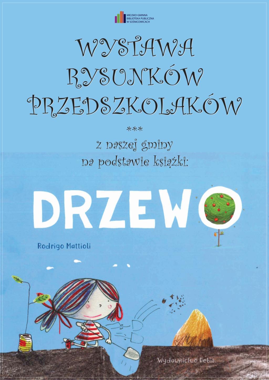 Wystawa DRZEWO Rysunków Przedszkolaków 2021 Plakat_Na_Strone